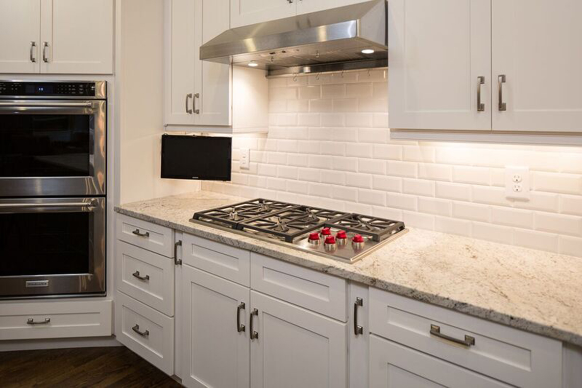 Kitchen cabinetry by kade kade homes and renovations for Kitchen cabinets quality levels